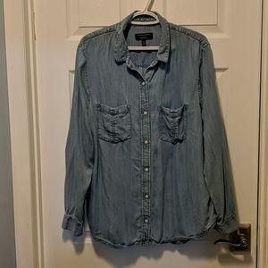 Very Soft Denim Button-Up Shirt